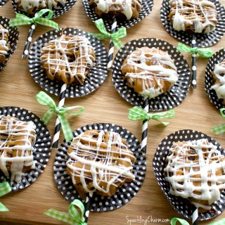 Chocolate Caramel Apple Slices