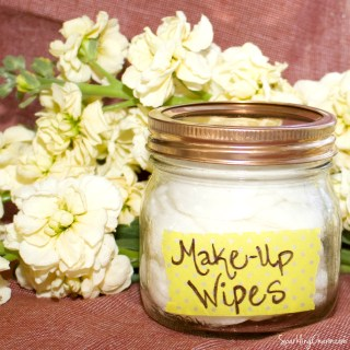 Homemade Make-Up Remover Wipes