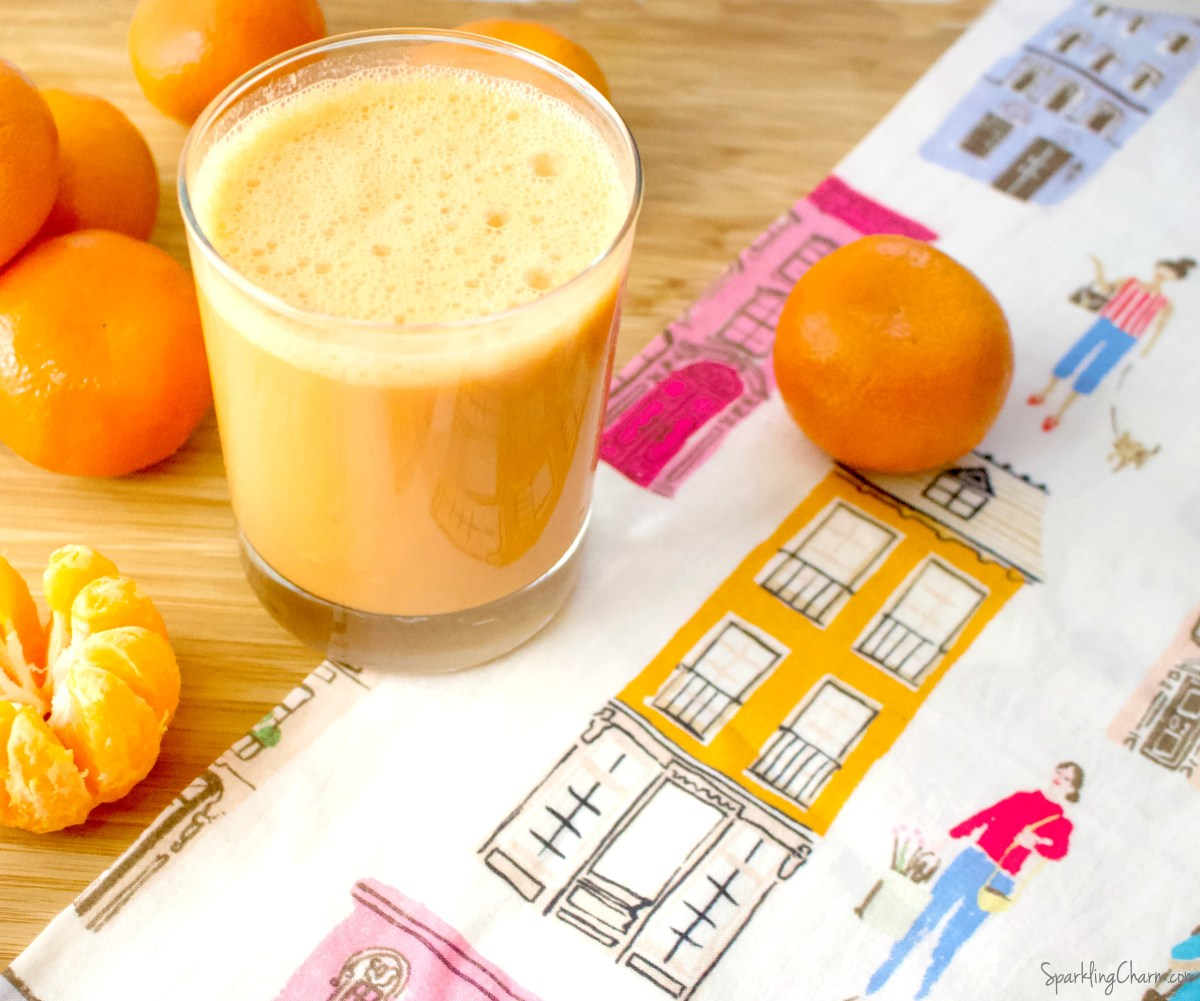 Heavenly Mandarin Morning Smoothie
