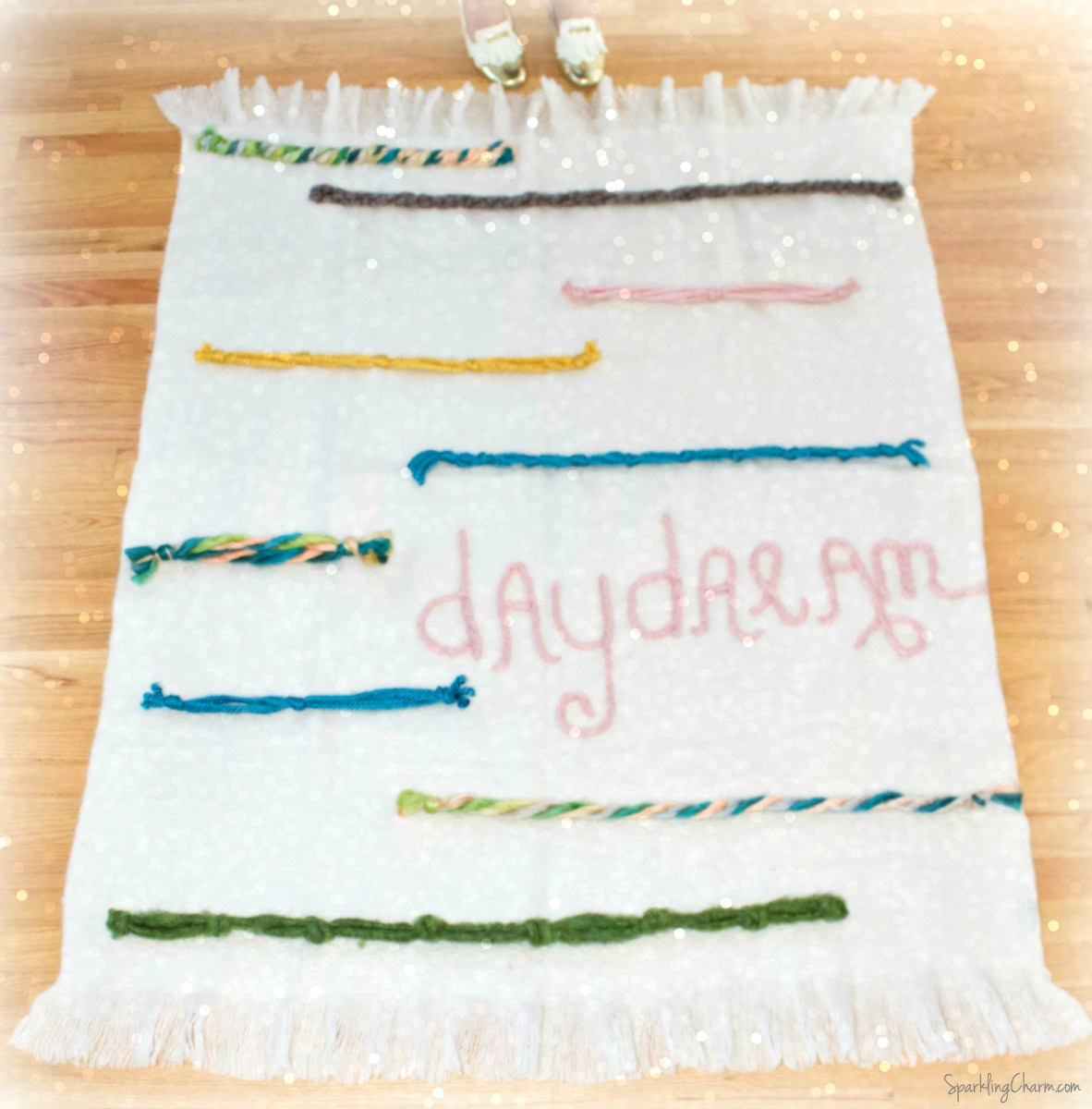 DIY Daydream Throw Blanket