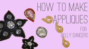 How to Make Appliques for belly dancers