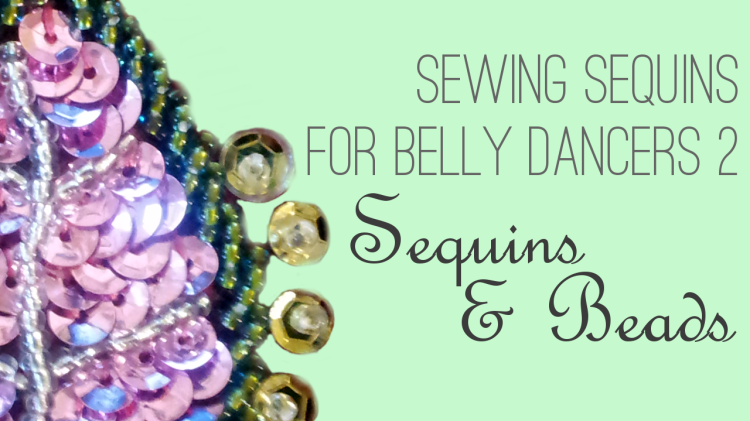 How to Sew Sequins and Beads