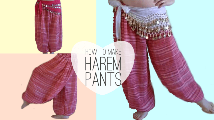 How to make belly dancer harem pants sparkly belly how to make belly dancer harem pants diy solutioingenieria Images