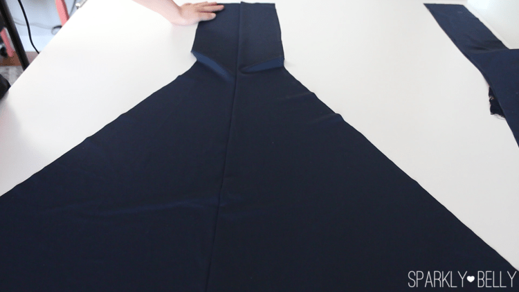 How to sew mermaid skirt panels together