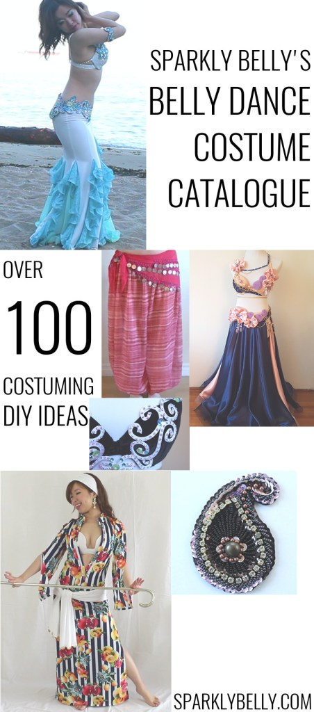 Sparkly Belly's Belly Dance Costume Catalogue