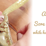 how to avoid sore fingers while hand sewing