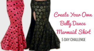 Create your own mermaid skirt 5 day challenge