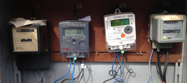 Iberdrola insist on plastic meter cupboards