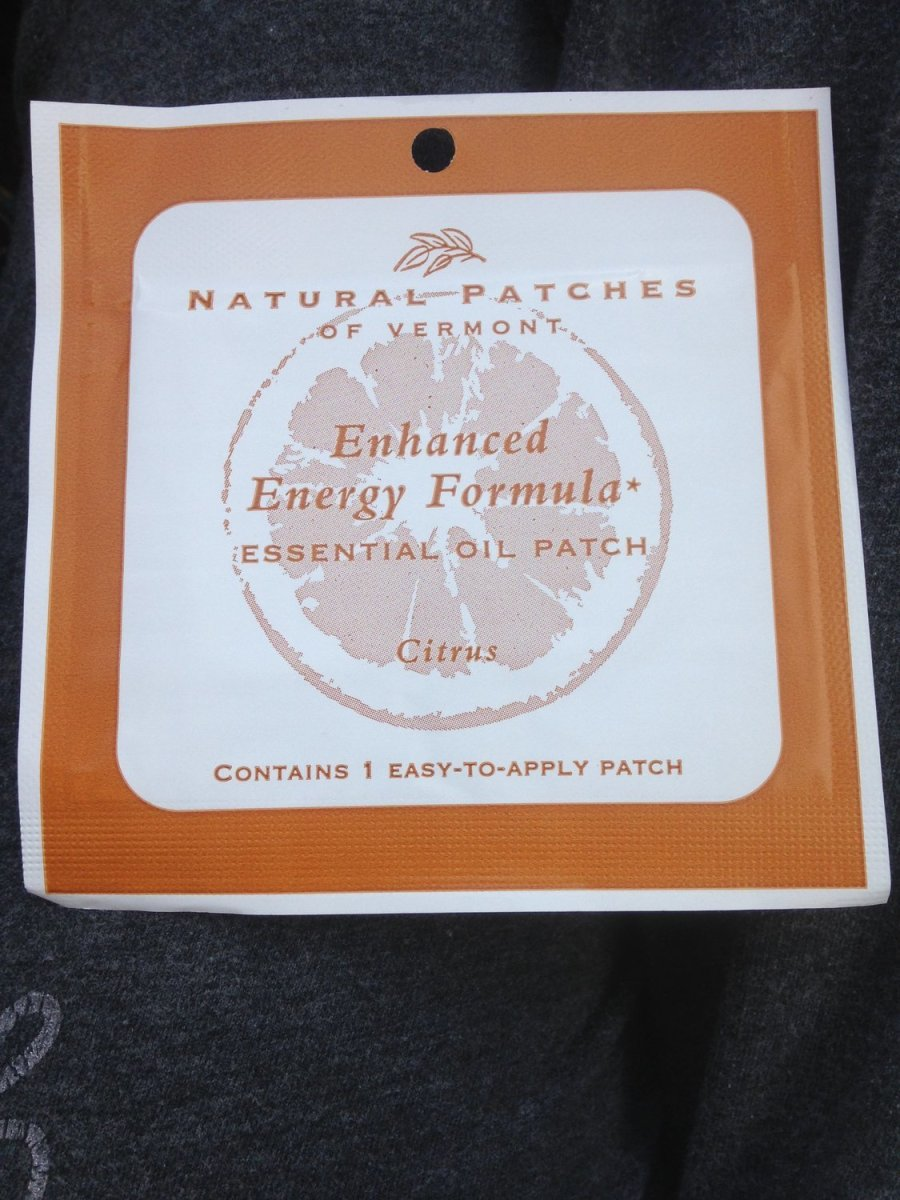 Enhanced Energy Formula Healing Infused Essential Oil Patches