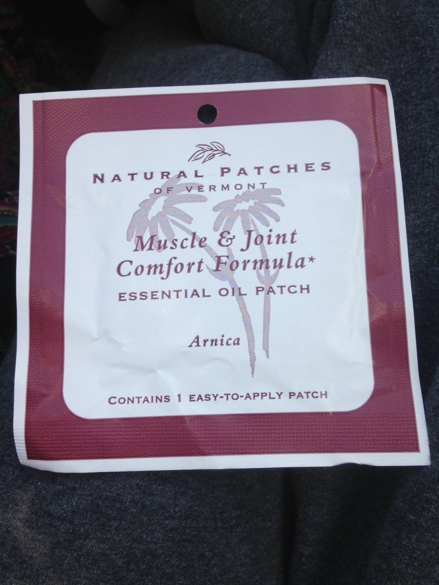 Muscle And Joint Calming Formula Healing Infused Essential Oil Patches