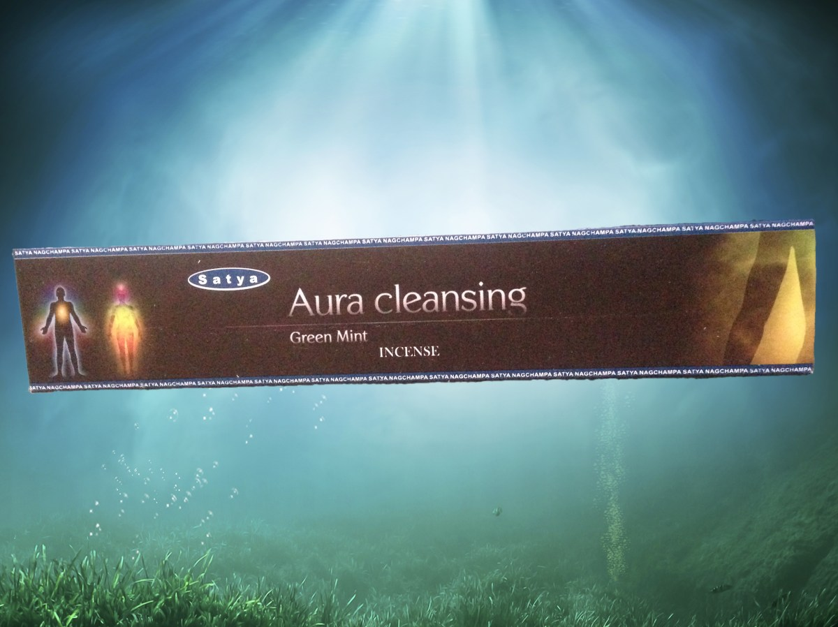 Aura Cleaning Incense Infused With Healing Energy