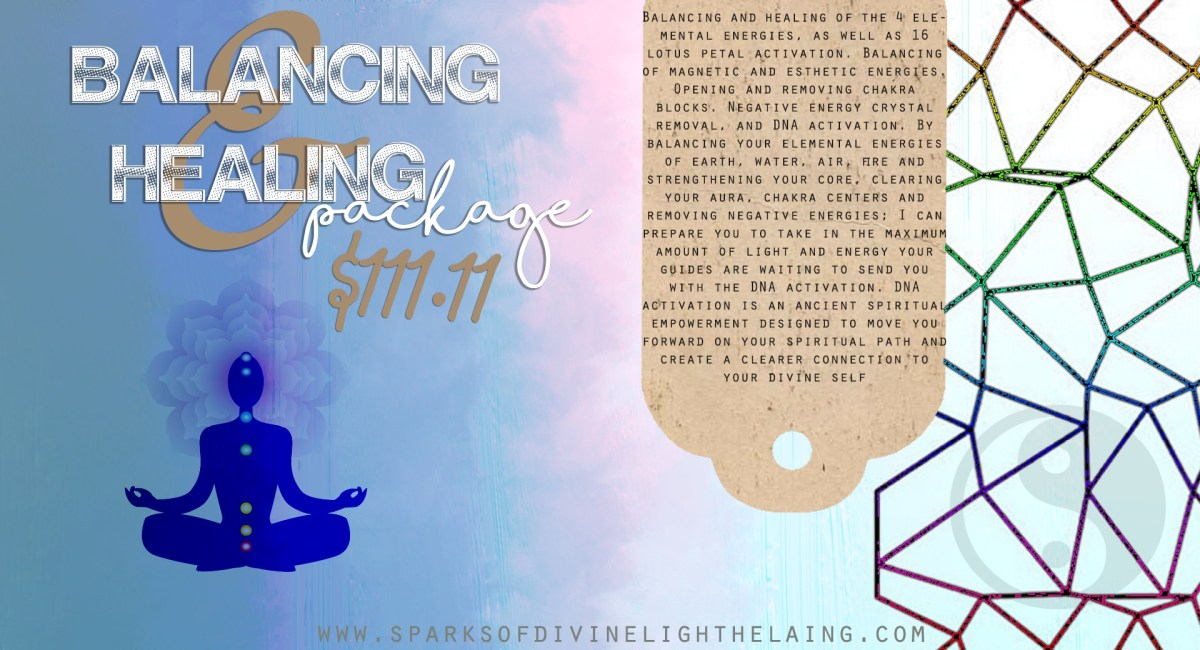 Balancing And Healing Package