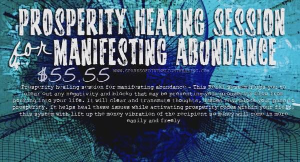Prosperity Healing-Session