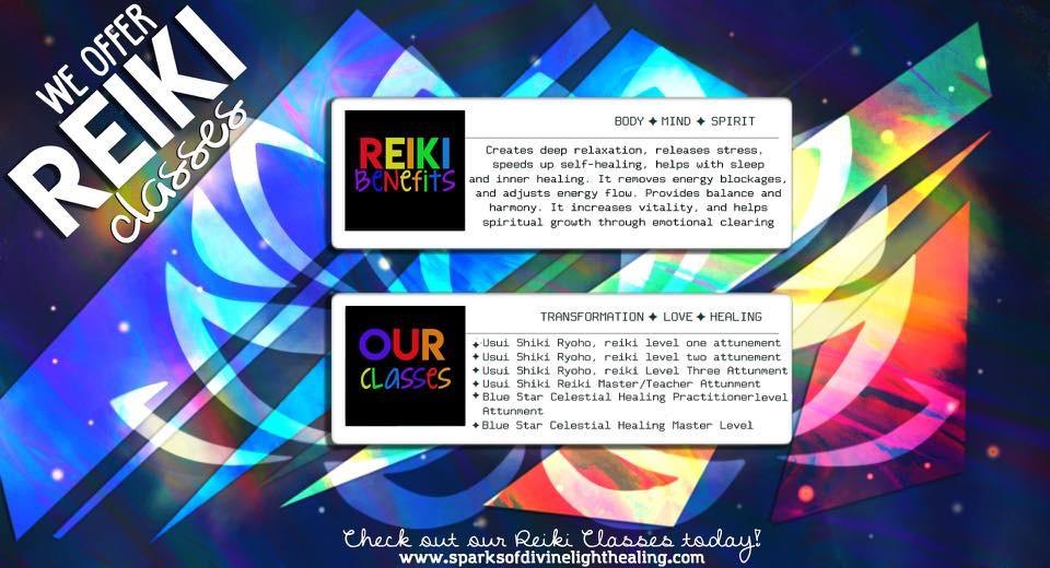 Reiki Classes