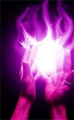 Violet Flame Healing Activation