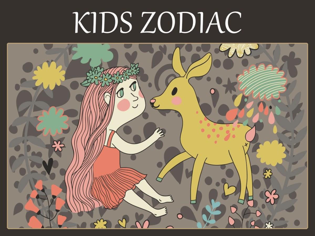 Kids Astrology Chart