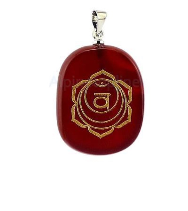 Sacral Chakra Pendent With A Root Chakra Activation