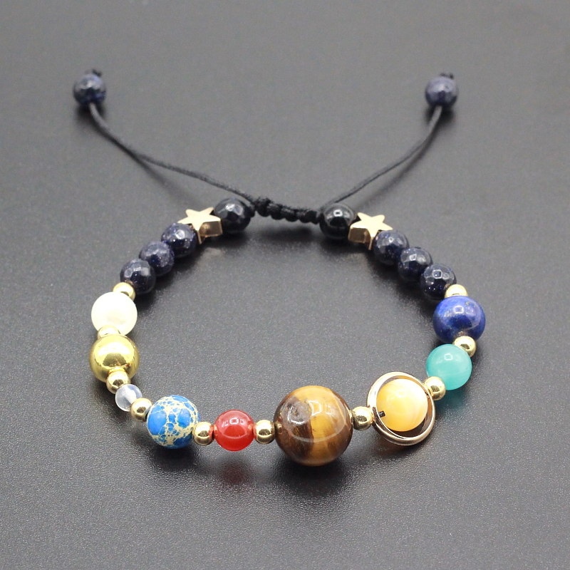 Solar system bracelet with galactic activation