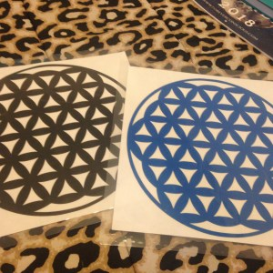 Flower Of Life Laminate Grid