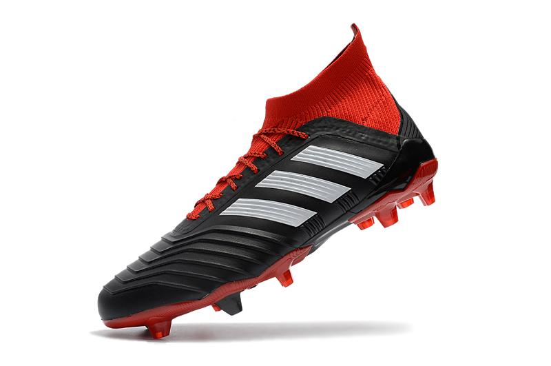 Inicio   Tacos   adidas   adidas Predator 18.1 (Negro Rojo) 5177cccfc0a32