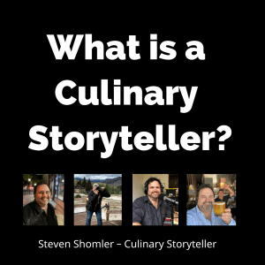 What is a Culinary Storyteller?