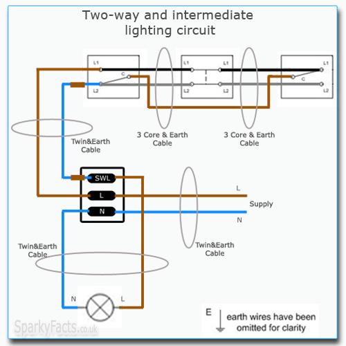 diagram 2 way intermediate lighting circuit wiring diagram