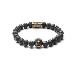 Armband Black Moon goud