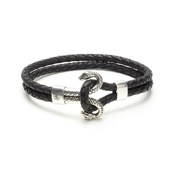 Armband gemini Snake Silver