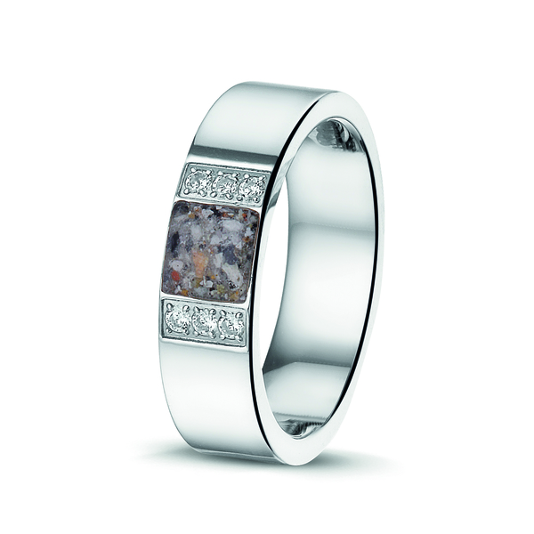 Ring RS 009 Staal