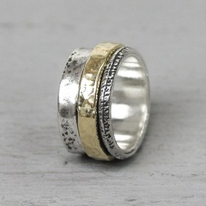 Ring goldfilled cool 19967