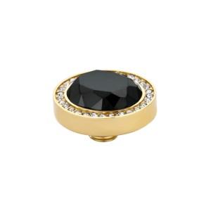 Meddy VI Facet Meddy Gold Crystal-Black