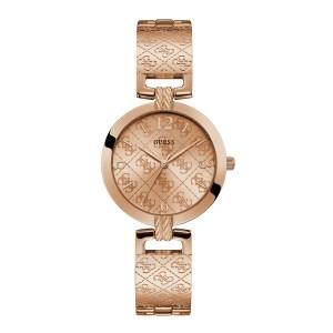 Guess G Luxe rosékleurig dameshorloge met G logo - Te koop bij Sparnaaij Juweliers in Aalsmeer en Hoofddorp