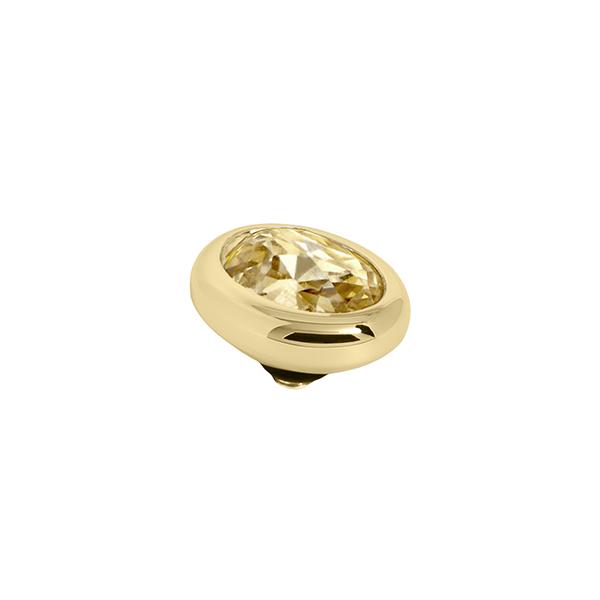 Melano Twisted oval swarovski golden shadow 10 mm- Te koop bij Sparnaaij Juweliers in Aalsmeer en Hoofddorp