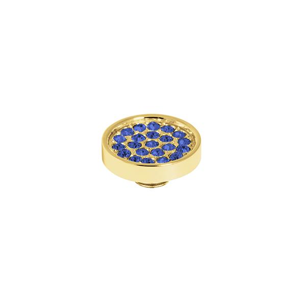 Melano vivid cz plate steen 12 mm jeans blue - Te koop bij Sparnaaij Juweliers in Aalsmeer en Hoofddorp