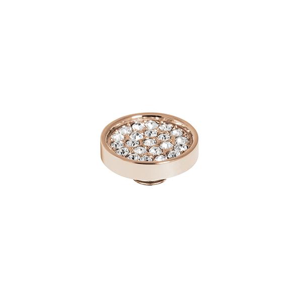 Melano vivid cz plate steen 12 mm chrystal - Te koop bij Sparnaaij Juweliers in Aalsmeer en Hoofddorp