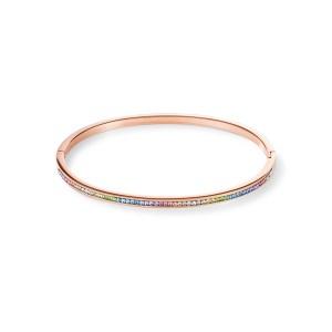 Coeur de Lion - armband rose verguld pastel crystal - Te koop bij Sparnaaij Juweliers in Hoofddorp