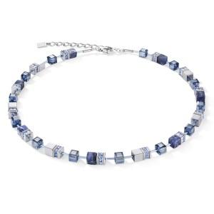 Coeur de Lion collier - Met sodaliet en hematiet - Te koop bij Sparnaaij juweliers in Hoofddorp