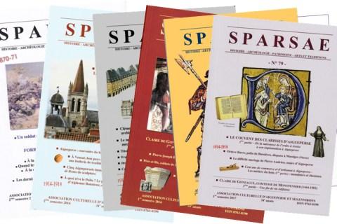 Pour compléter votre collection de revues Sparsae…