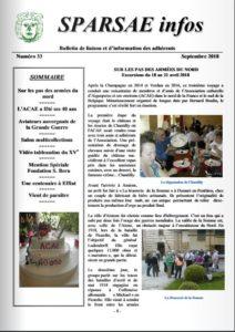 sparsae infos 33