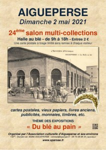 24ème Salon multi-collections d'Aigueperse @ Halle aux blés
