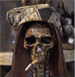 Santa Muerte and El Cadejo   Sparsely Sage and Timely