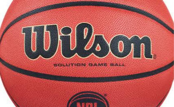 Wilson: NBL Solution Official Game Basketball