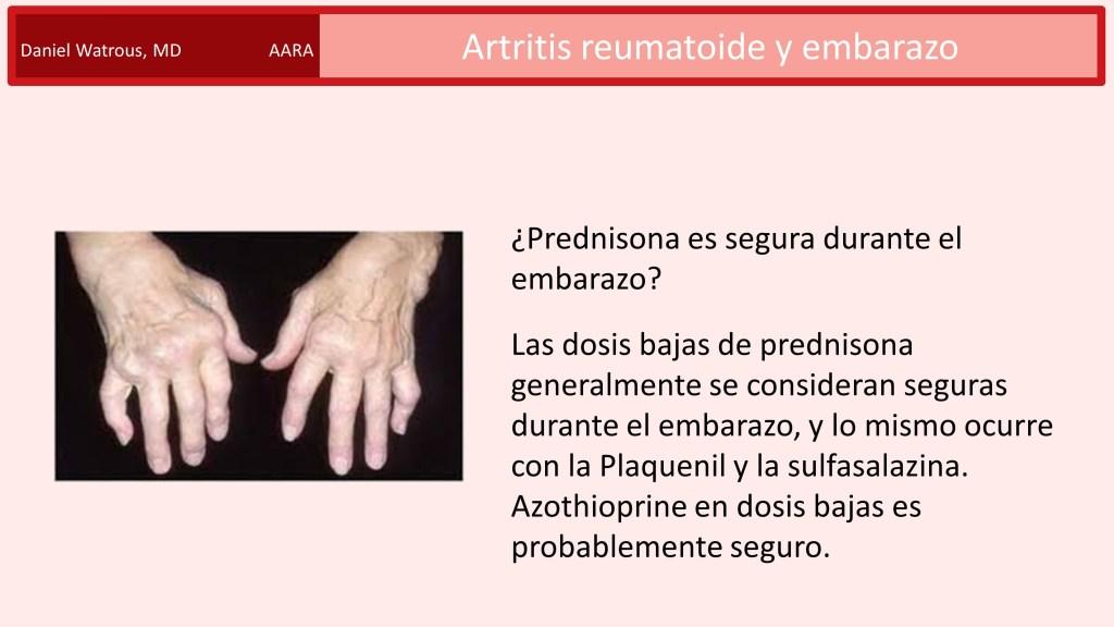 prednisona en el embarazo