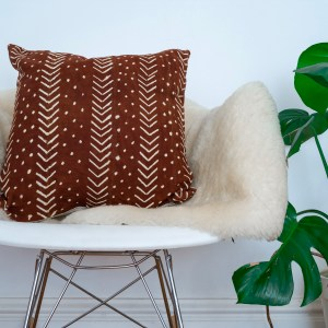 Issa Malian mud cloth pillowcase