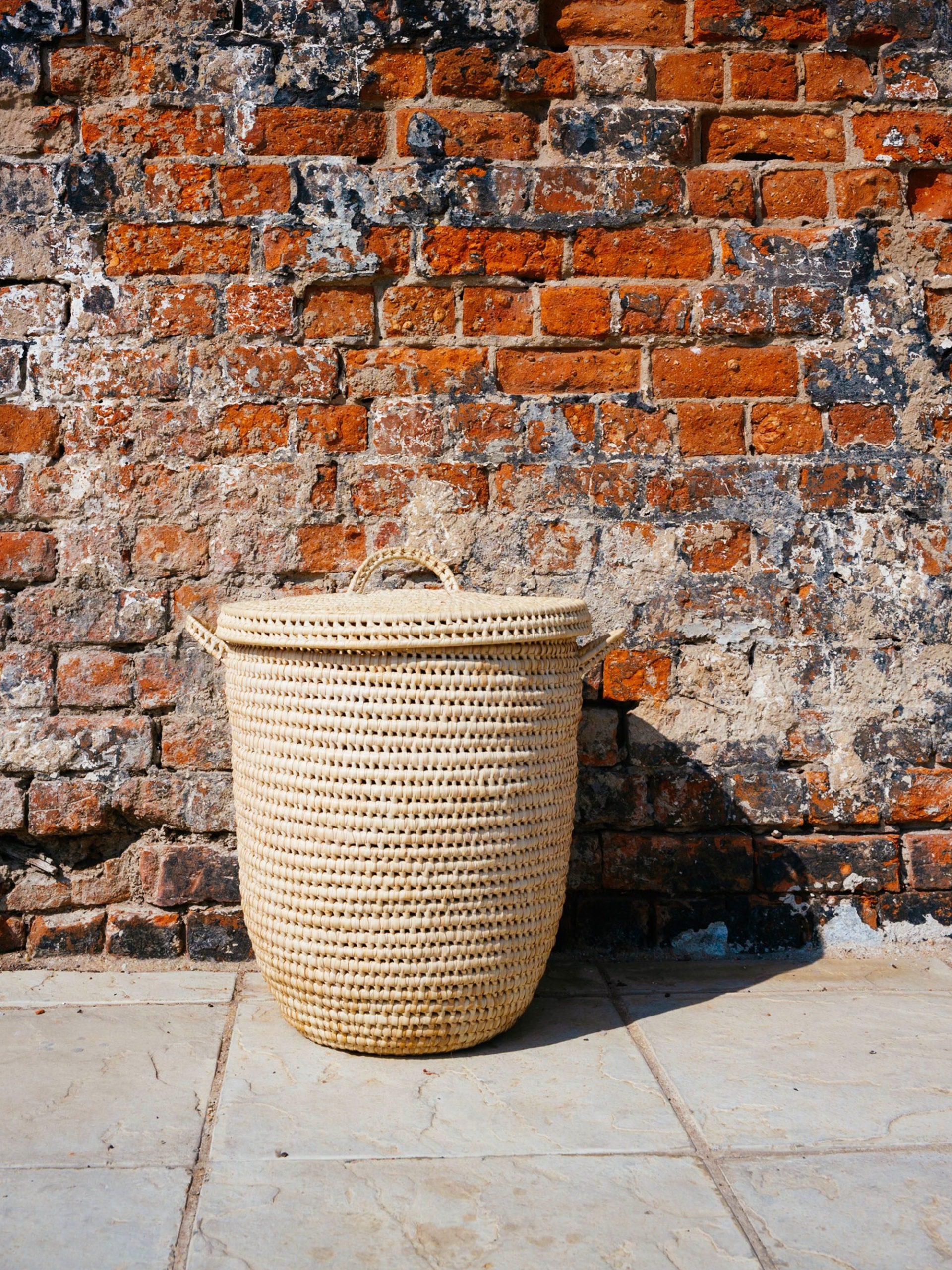 Zulu woven laundry basket