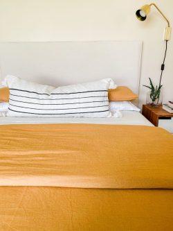 Moroccan Pom Pom pillow long lumbar