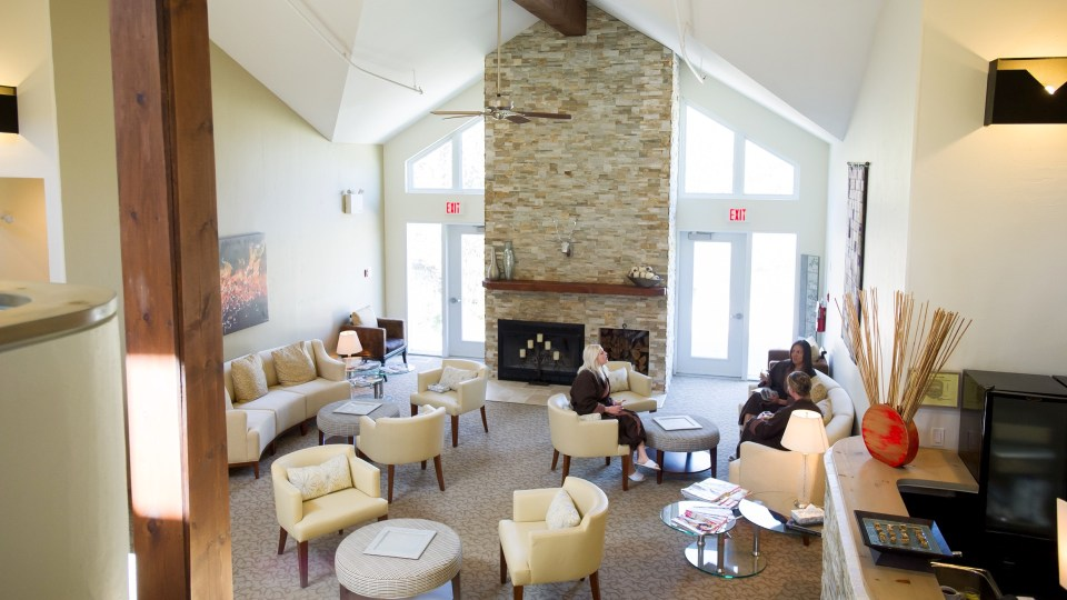 Spa Lounge, The Millcroft Inn & Spa, Spas of America