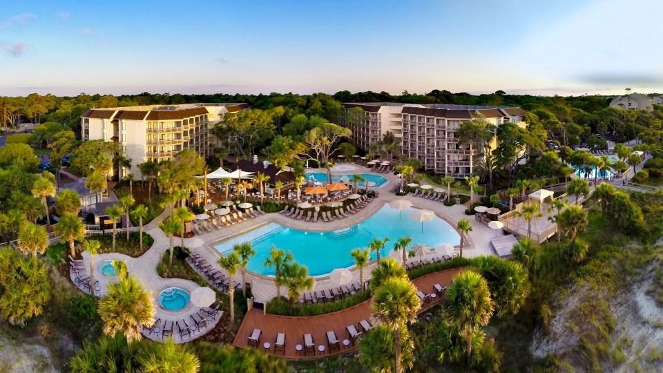 Ocean Tides Spa, Omni Hilton Head Oceanfront Resort, Spas of America