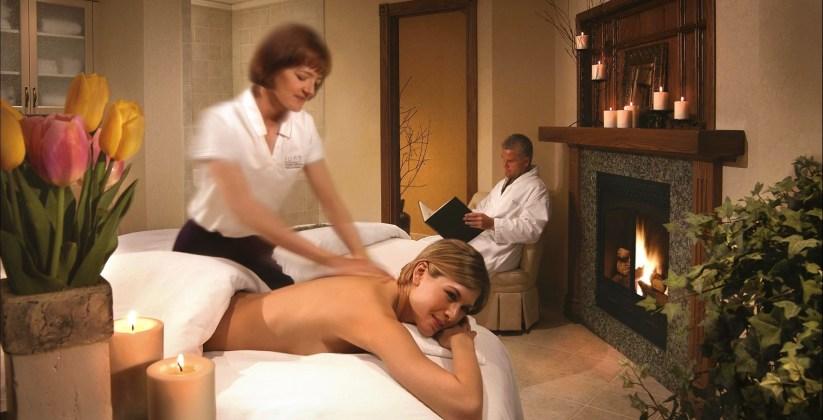 Massage, Willow Stream Spa, Fairmont Banff Springs, Spas of America