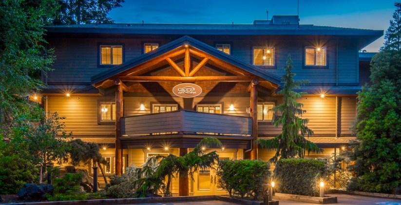 Grotto Spa, Tigh-Na-Mara Spa Resort, Parksville, British Columbia, Spas of America